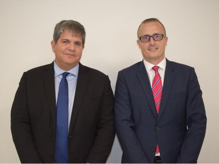 Eric Leal, PDG du Groupe Leal, et Philippe-Alexandre Rebboah, directeur général de Leal Réunion