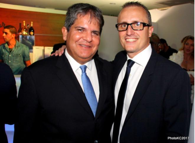 Eric Leal Patron du groupe Leal et Philippe Alexandre Rebboah, directeur de Leal Réunion