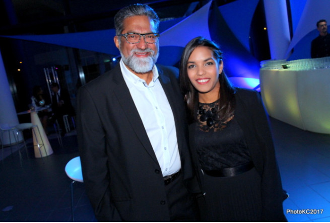 Osman Ravate Directeur de Celio et Etam et sa belle fille Anissa Ravate