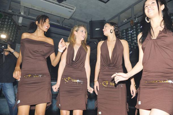 Les Candidates Miss Réunion 2009 à l'Ile Maurice