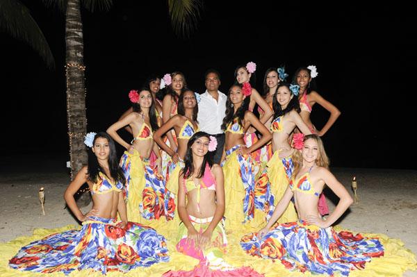 Les Candidates Miss Réunion 2009 à l'Ile Maurice - Jour 4
