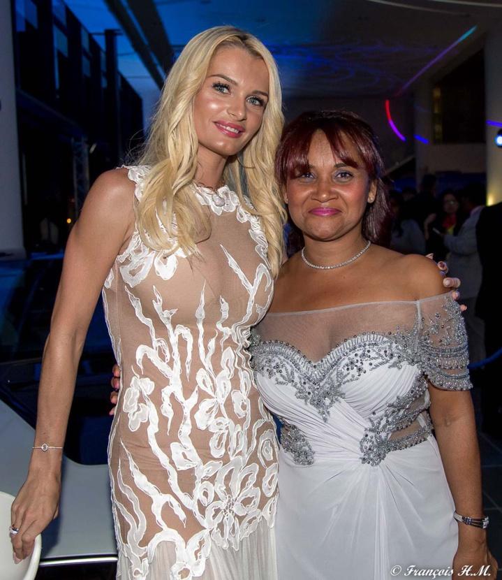 Ludivine et sa belle-mère Michelle Payet