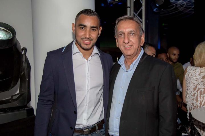 Dimitri Payet et Aziz Patel