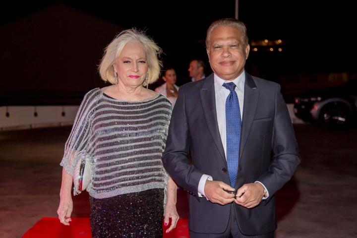 Yvette et Yves Ferrière, adjoint au maire de Sainte-Marie
