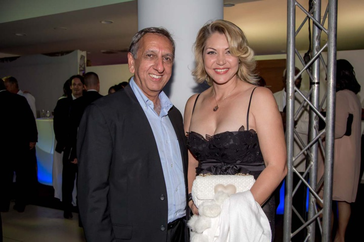 Aziz Patel et Angélique Moutoussamy