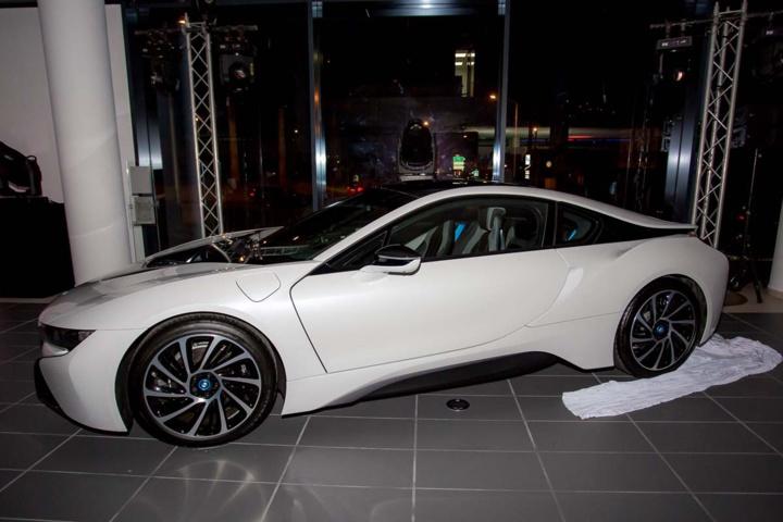 La BMW électrique i8