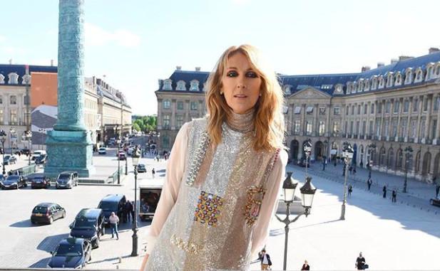 Celine Dion Pose Nue