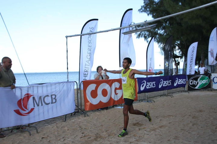 Xavier Verny, vainqueur sur 10 km