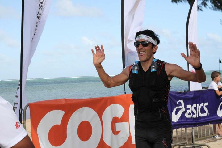 Patrick Giraudet a réalisé 2h 15 sur les 21 km. Il est 2ème en Master 2