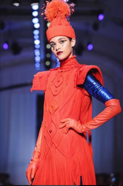 Pauline Hoarau : sublime en haute couture