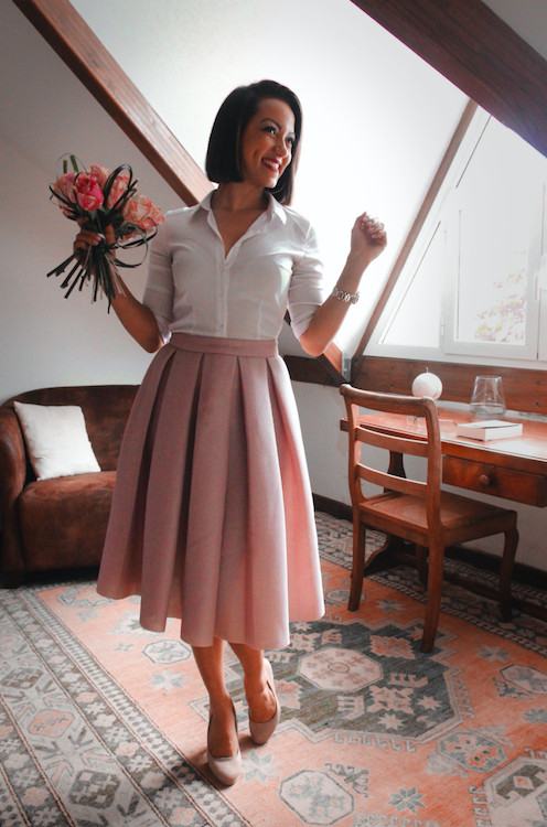 Jade Soune Seyne : l'hôtesse de l'air romantique