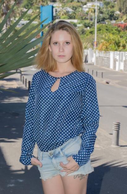 Angélique Lebon, future concessionnaire automobile