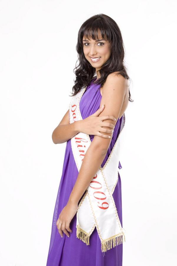 Laëtitia Hoareau 2ème dauphine de Miss Réunion 2009