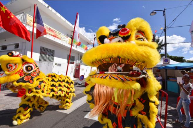 [RETOUR IMAGES] La danse des lions du festival Guandi à La Réunion