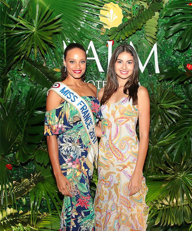 Miss France 2017 et Miss Réunion, Ambre N'Guyen