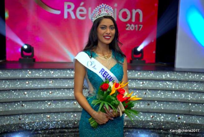 Miss Réunion 2017 : c'est Audrey Chane Pao Kan !