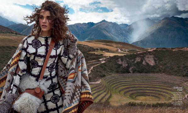 Pauline Hoarau au Pérou