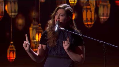 [VIDEO] America's Got Talent : l'époustouflante Mandy Harvey, chanteuse sourde