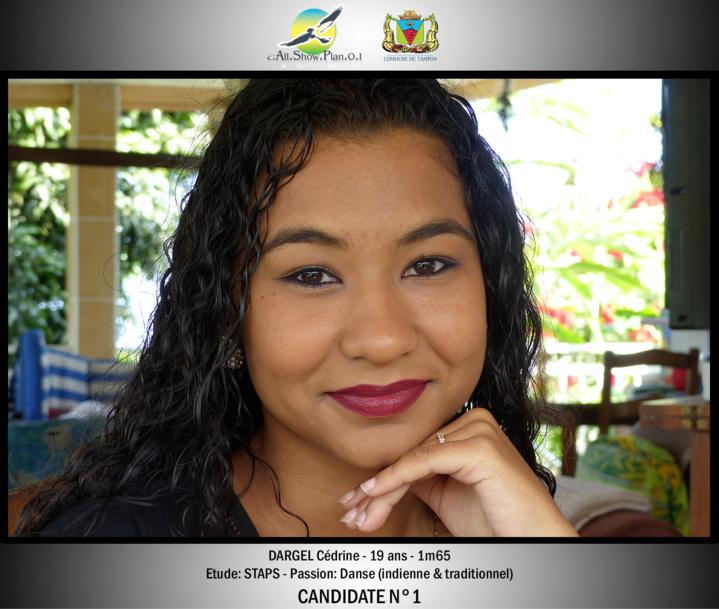 Les 8 candidates Miss Ville du Tampon 2017