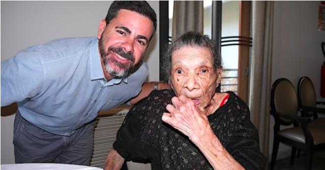 """Marie-Lise, 100 ans, """"à la fleur de la jeunesse"""""""