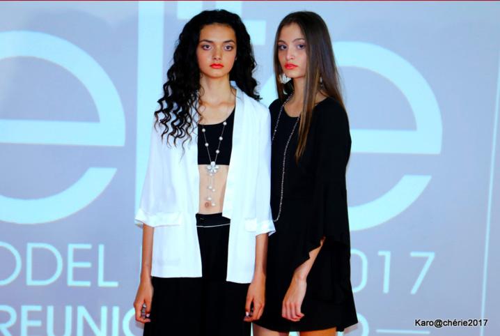 Kiana et Kiara lauréate Elite Model Look Reunion Island 2016