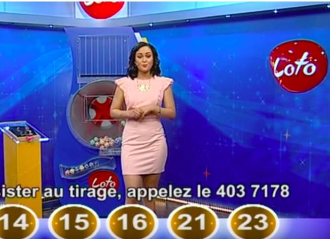 Capture d'écran loto Mauritius