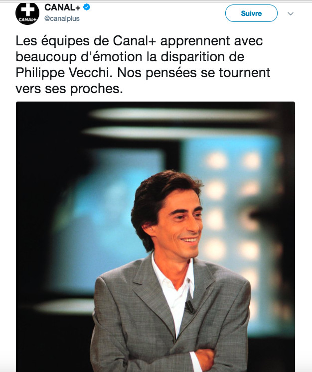 Capture Twitter Canal +