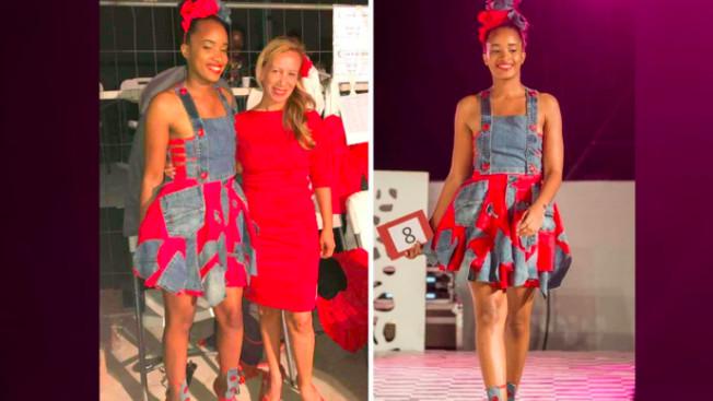 Nadine Nectoux avec son modèle remporte le 1er Prix du concours dans la catégorie professionnelle