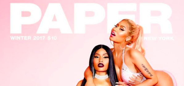 Nicki Minaj ultra provoc en couverture de Paper
