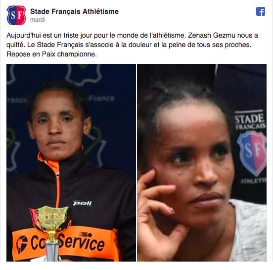 Une championne de marathon assassinée dans l'indifférence générale