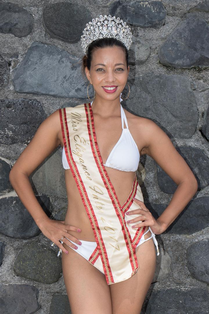 Estelle Bordier : la beauté Réunionnaise aux yeux verts