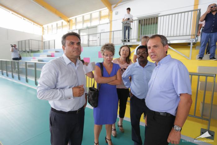 [PHOTOS] Un gymnase tout neuf pour Petite-Ile