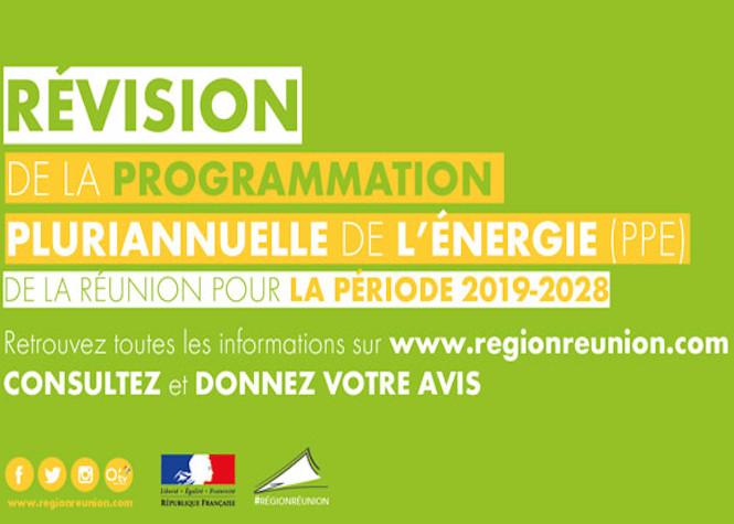 Révision de la Programmation Pluriannuelle de l'Énergie (PPE) de la Réunion