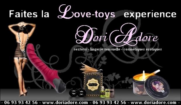 "Faites la ""Love Toys"" experience"