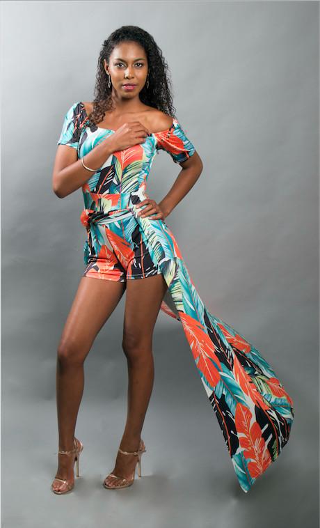 Marine Fulmart,  elle rêve de devenir mannequin