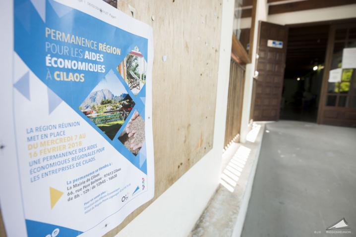Une aide exceptionnelle de 2 Millions d'euros pour les entreprises de Cilaos après le passage de Berguitta