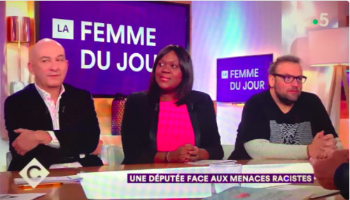 La députée LREM Laetitia Avia victime de propos racistes immondes et d'une menace de mort