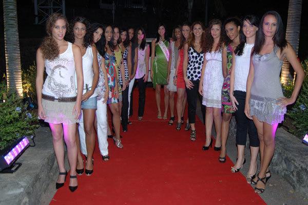 Miss Réunion 2010 :Les 16 candidates