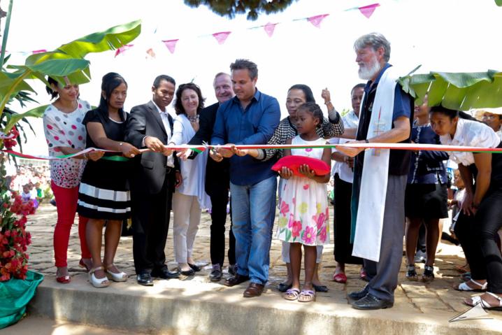 Solarplexus et la Région Réunion inaugurent la première unité mobile photovoltaïque de Madagascar