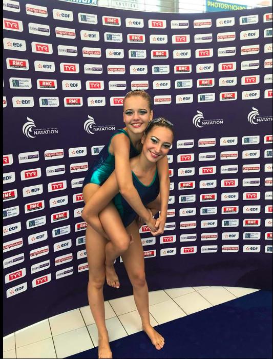 Les Saint-Pauloises vice-championnes de France de natation synchronisée
