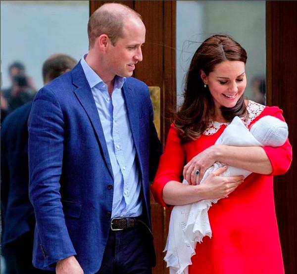 Le prénom du royal baby dévoilé