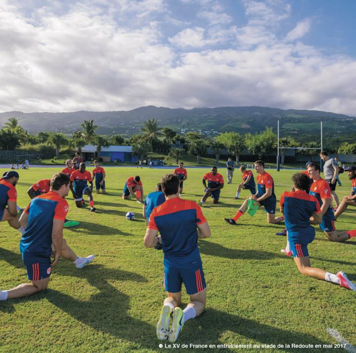 La Réunion, terre d'entraînement