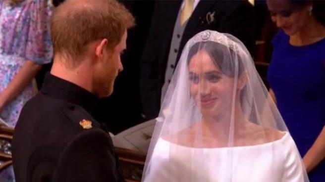 """Meghan Markle et le prince Harry se sont dit """"oui"""""""