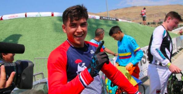 Le Réunionnais Tatyan Lui-Hin-Tsan devient champion du monde de BMX