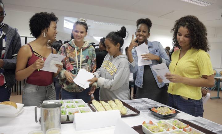 Les lycéens pour l'équilibre alimentaire