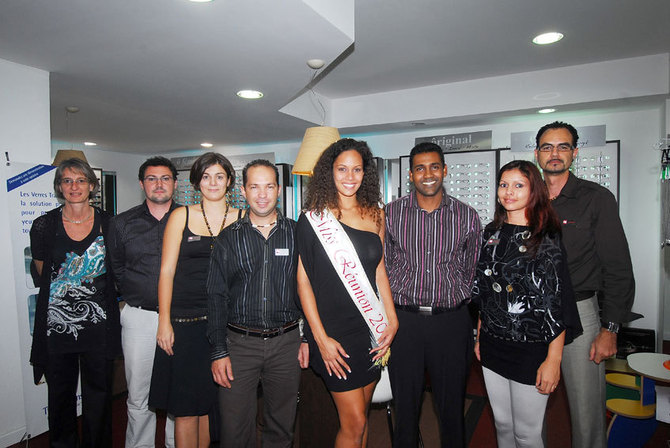 Miss Réunion chez ODB