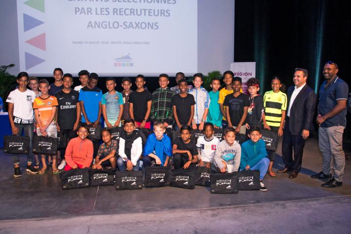 Sportivement réunionnais : 69 jeunes footballeurs sélectionnés par des recruteurs professionnels européens et internationaux