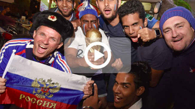 Les Bleus en finale : L'euphorie des supporters réunionnais !