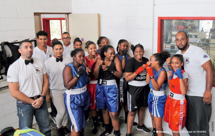 La boxe anglaise séduit les femmes