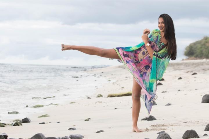 Marie Barbier, la passionnée de Taekwondo